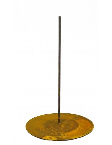 Standplatte mit Stange mittig Ø 33cm