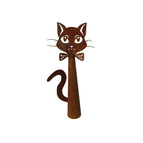 Edelrost Zaungucker Katze