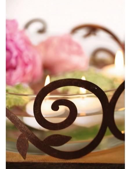 Ornamentring für Vasen/Windlichter/Schalen