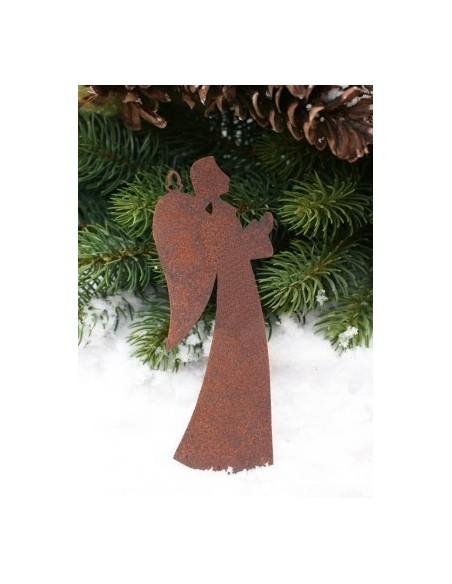 5 tlg. Weihnachtsbaumanhänger