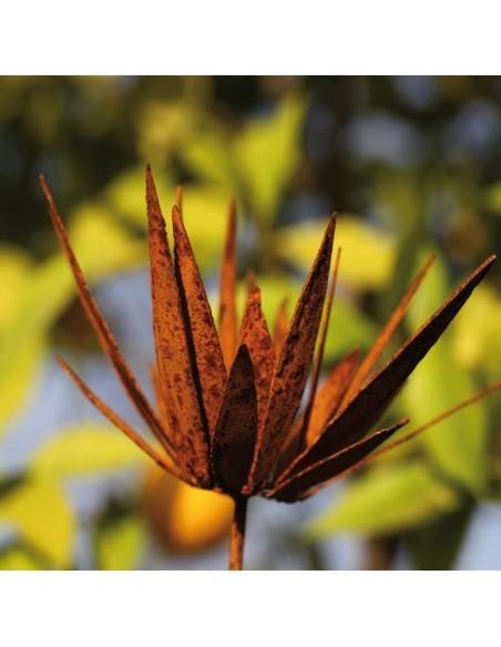 Wildflower Stecker groß - Blüte mit spitzen unregeläßigen Blüten zum Legen