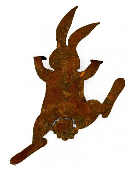"""Rost Häschen """"Bunny"""" kletternd 30 cm hoch zum Einhängen"""