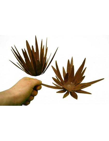 Rost Wildflower klein - Blüte mit spitzen unregeläßigen Blüten zum Legen