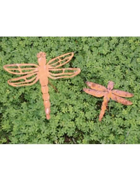 Edelrost Libelle Gr.1 zum Stecken