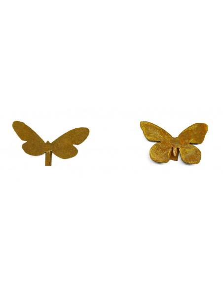 2 verschiedene Schmetterlinge für Vasen 2er Set