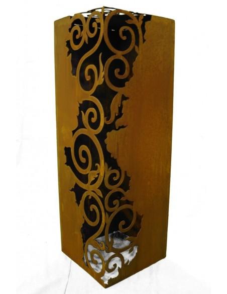 Rost Säule Venezia 1,2 m hoch 30 x 30 cm