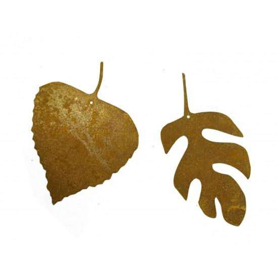 2 tlg. Herbstblatt