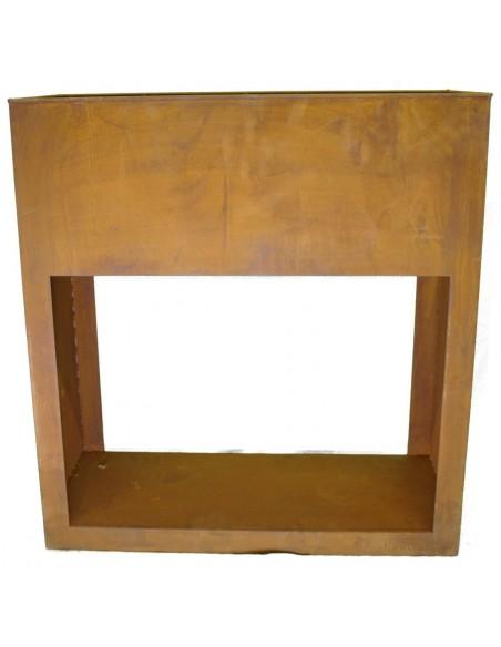Edelrost Pflanzregal 35 x 80 x 85  für Holzbefüllung unten