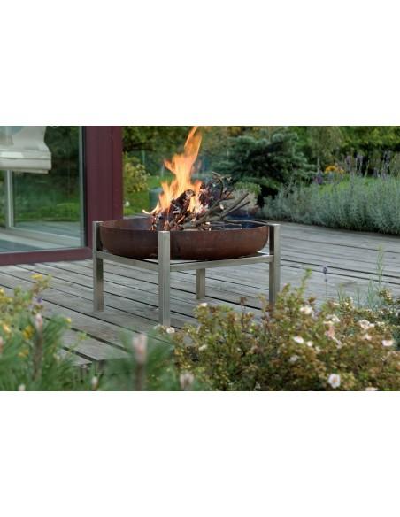 SvenskaV Design Feuerschale CUBE M