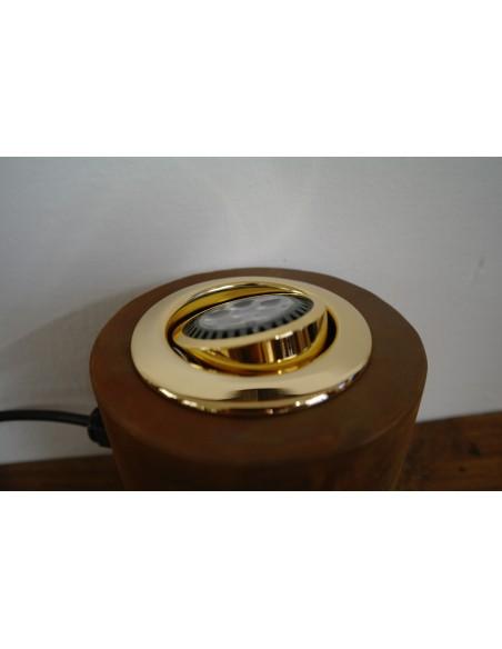 LED Strahler in Metallgehäuse, Rost beschichtet