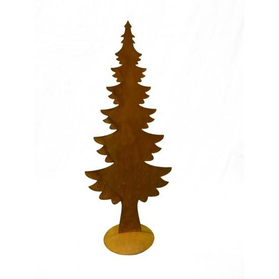 Baum auf Platte 33,5 x 80 cm