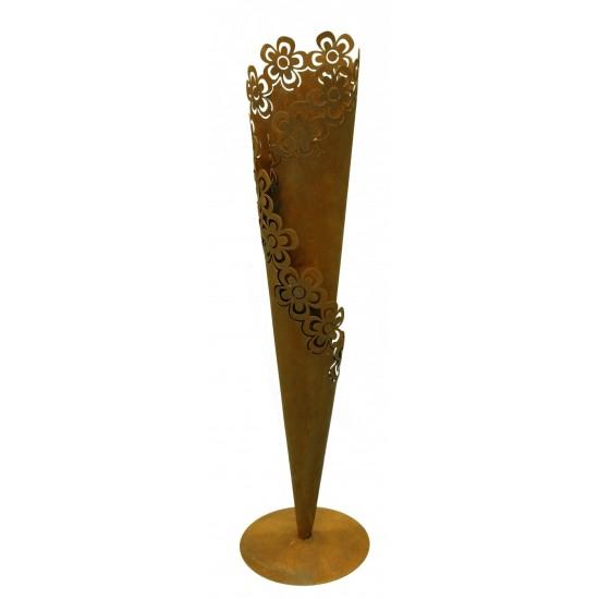 Tüte mit Blumenmuster 60 cm hoch