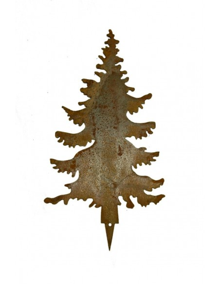 Edelrost TannenStecker Set 5 Bäume 20 bis 25cm Miniwald