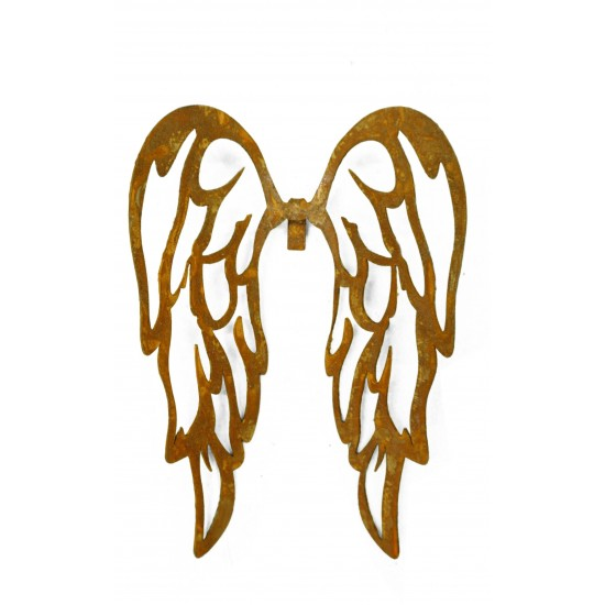 filigrane Flügel zum Einhängen in Gläser Höhe 15 cm