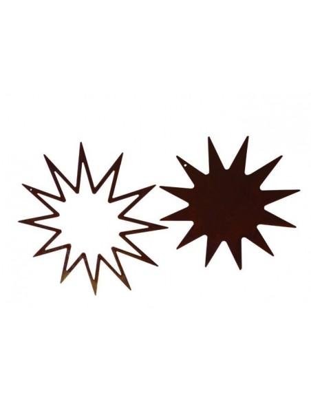 2 tlg. Sternenset -12 Zacken-