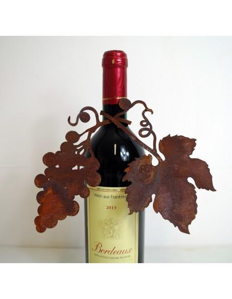 Weinranke mit Trauben zum Wickeln Läge ungebogen 29cm