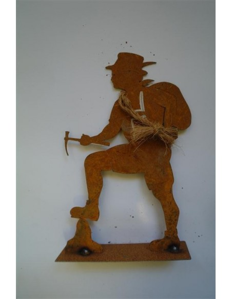 Deko Figur Bergsteiger 60 cm