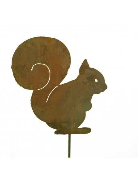 Eichhörnchen Squirrel 21 cm Groß -M- auf Stab zum Stecken