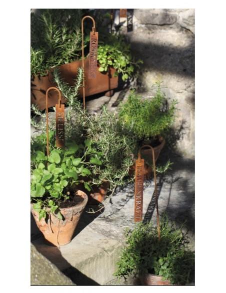 Gartendeko Kräute