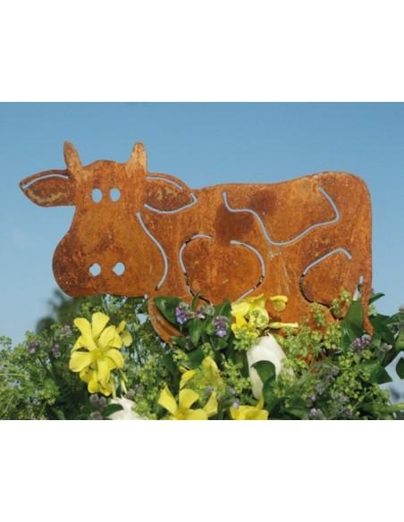 Deko Kuh Milka  25 x 35 cm, auf Platte