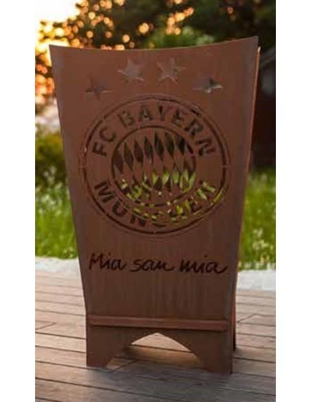 Bayern Fan Feuerkorb Geschenkidee