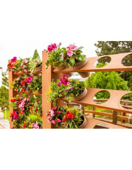 Blumentopf Raumteiler Metall