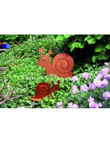 Deko Idee Gartenschnecke Metall