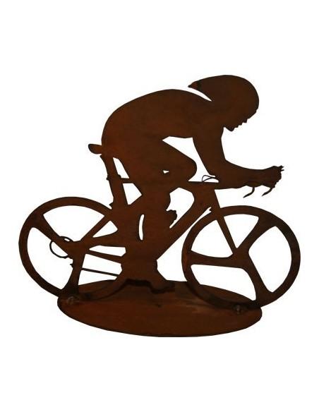 Dekofigur Rennradfahrer
