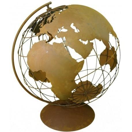 Globus Weltkugel Weltkarte Landkarte 105x50cm Atlas Maritim XXL Schwarz A400