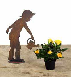 Gärtner Figur Kind - Junge