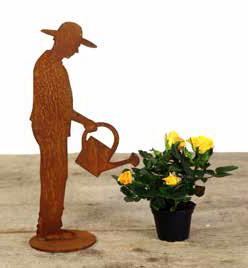 Gärtner Figur mit Gießkanne