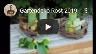 Zum Gartendeko Rost Video