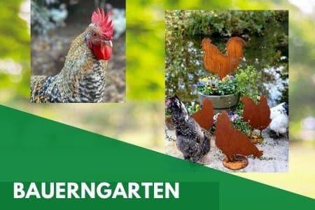 Gartendeko für den Bauerngarten