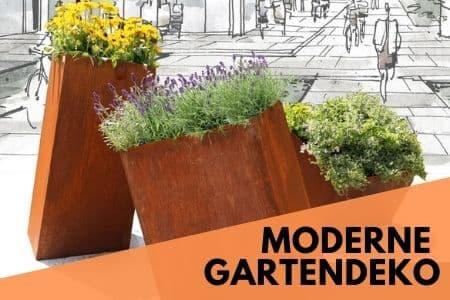 moderne Gartendeko