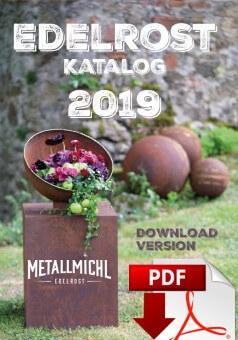 Gratis Gartendeko Katalog Edelrost