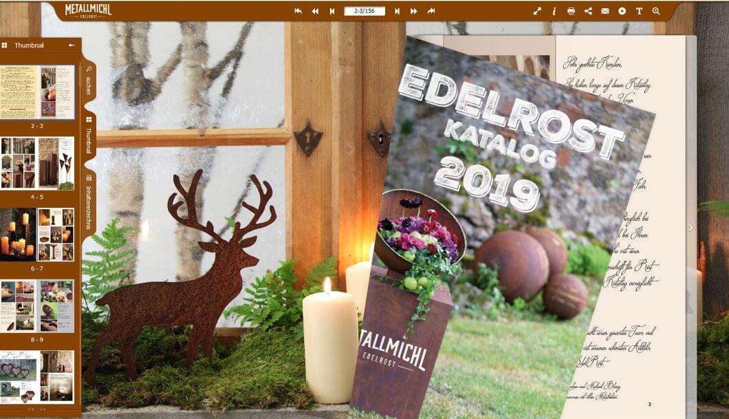 Deko Katalog zum blättern - Metallmichl 2019